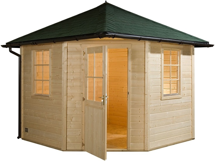 Hoekmodel tuinhuisje / blokhut model Functional CF 2000 van Bear County - Maison et décoration - Jardinage - Bear County