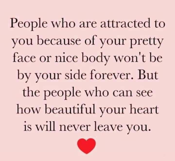 Inner beauty lasts forever.: Life Quotes, Sotrue, True Love, So True, Favorite Quotes, Beautiful Heart, Inspiration Quotes, True Stories, True Beautiful
