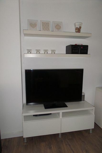 Een minimalistische woonkamer