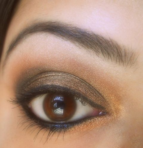 Copper Eye Makeup Tutorial