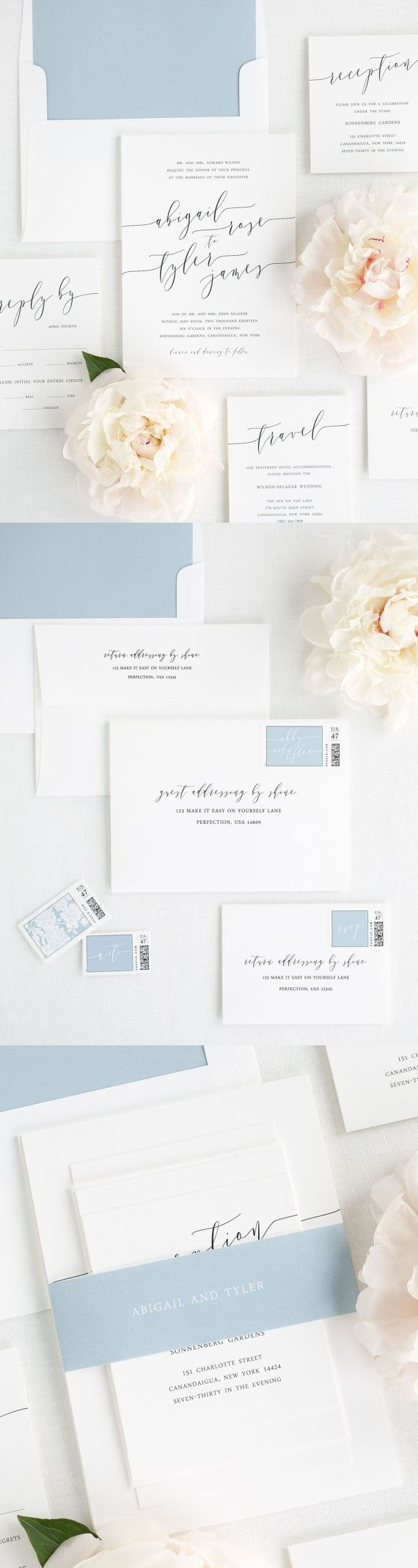 Elegant and timeless wedding invitations 309 best