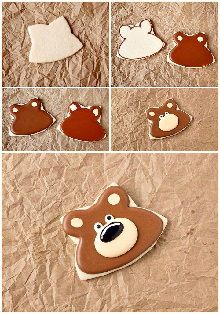 How To Make Decorated Woodland Cookies with Video | The Bearfoot Baker