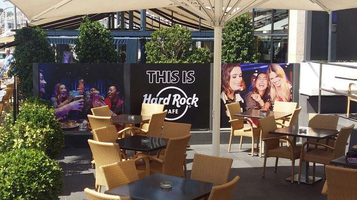 Hard Rock Cafe Mallorca Terrace!!