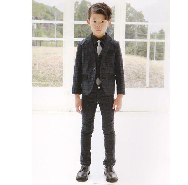 キッズフォーマル スーツ 入学式 卒業式 子供服 GENERATOR ジェ :4009178-MG:MARUMIYA WORLD - 通販 - Yahoo!ショッピング