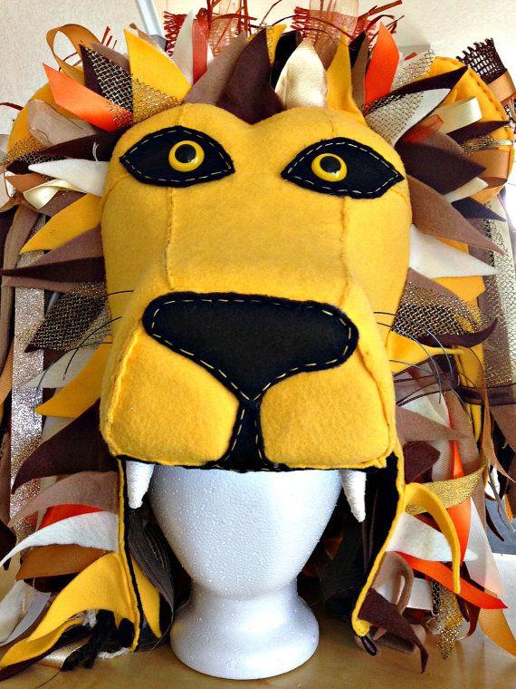 Harry Potter Inspired Luna Lovegood's Lion head by GambolANDJapes