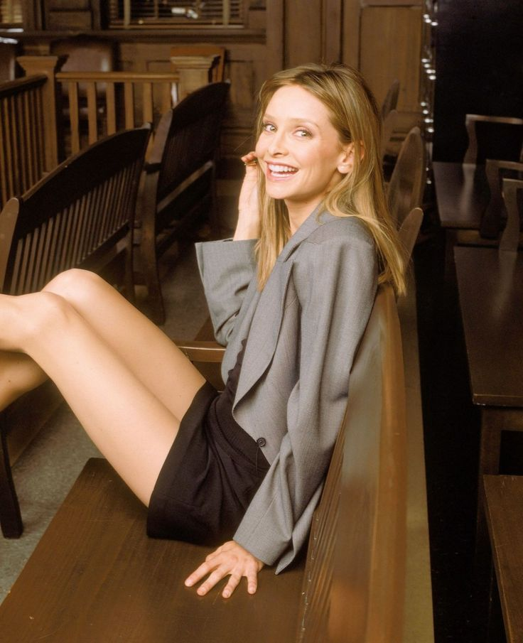 calista flockhart as ally mcbeal