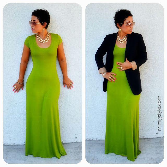 Make maxi dress look formal