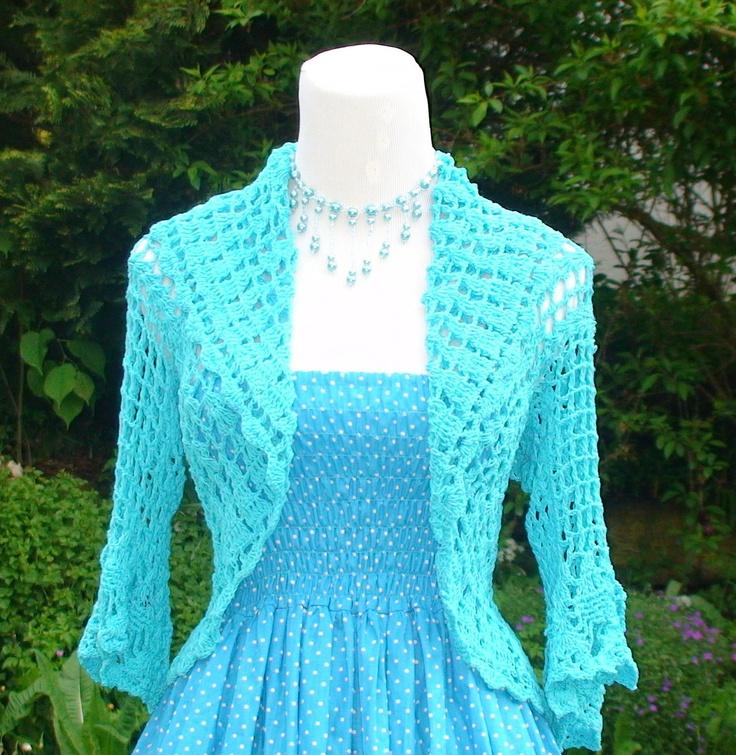 Crochet Bolero Jacket