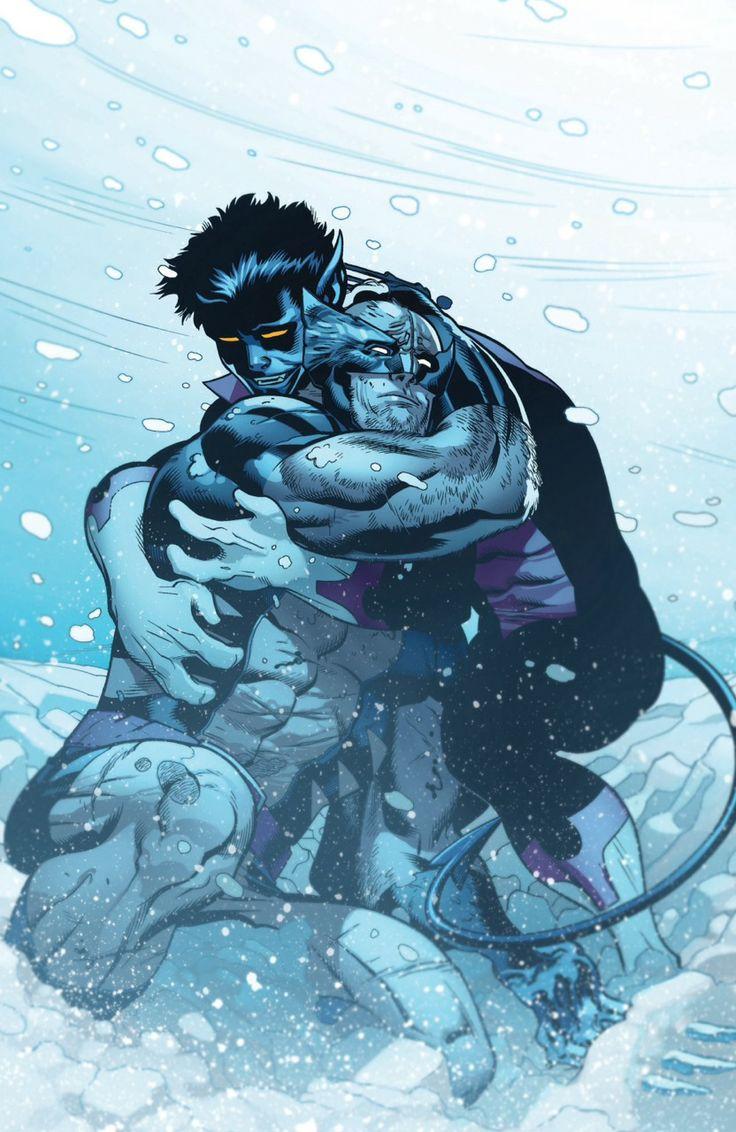 Nightcrawler (Kurt Wagner) / Wolverine (James «Logan» Howlett) by Ed McGuiness