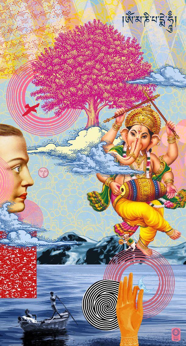 """""""Buddha dreams""""- 70x130cm"""