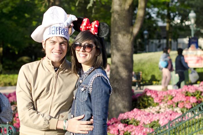 Disneyland Paris, 20 Anniversary. More on www.pursesandi.net #disney #disneyland #disneylandparis #fantasy #happy #pursesandi #minnie #paris #parigi #love #polkadots #lauracomolli #ratatuille #chef #piccolochef #cappellodachef
