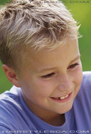 Boys Short Hair & How-to Vi