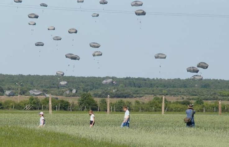Wielkim desantem z powietrza, jakiego nie było podobno od czasów II wojny światowej, rozpoczęły się międzynarodowe manewry wojskowe Anakonda 2016. Sprzęt