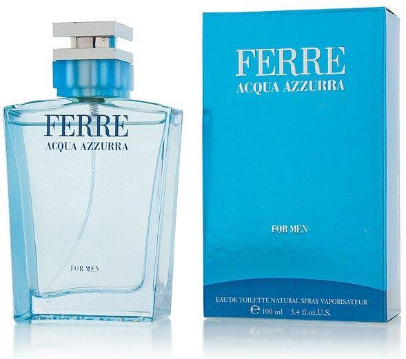 Το Acqua Azzurra από τον οίκο Gianfranco Ferre είναι ένα Υδατινο Αρωματικο άρωμα για άνδρες. Αποκτήστε το με έκπτωση από 63,00€ μόνο με 44,50€! #aromania #GianfrancoFerrePerfume #AcquaAzzurra