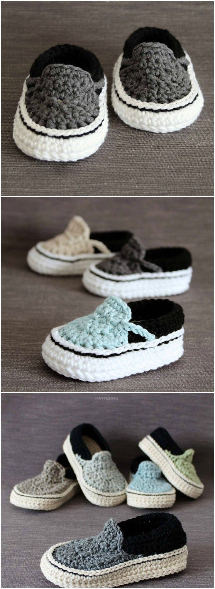Crochet Baby Vans Pattern Cutest Ideas