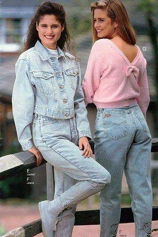 Calças jeans folgadas são uma opção confortável, não importa em que década você viva. | 23 tendências de moda dos anos 90 que estão voltando