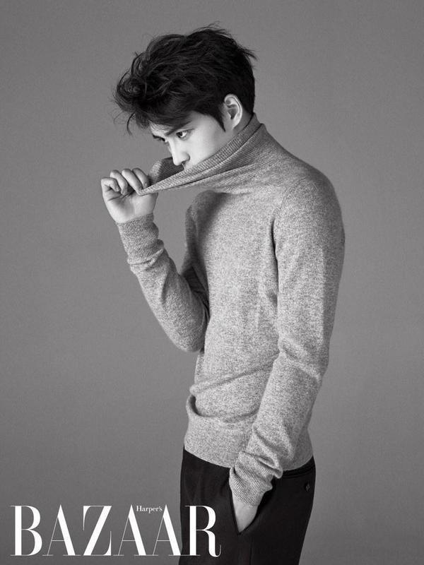Kim Jaejoong   Harper's Bazaar Magazine (February Issue)
