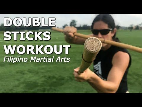 Escrima Double Stick: 5 Sinawali Drills - YouTube