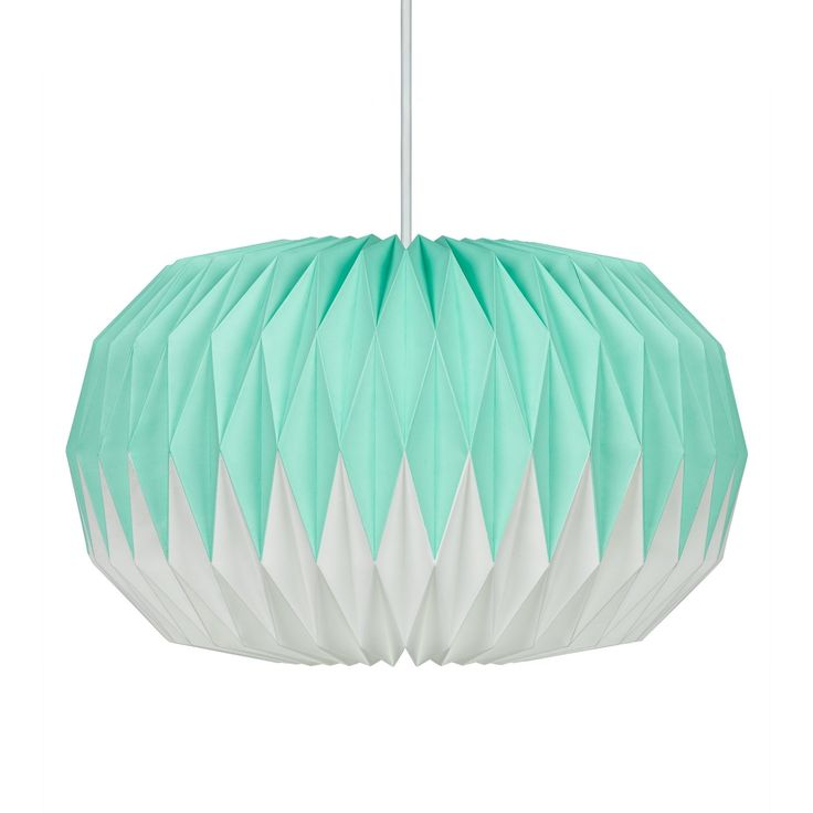 Wild Wood - Mint Green Lampshade
