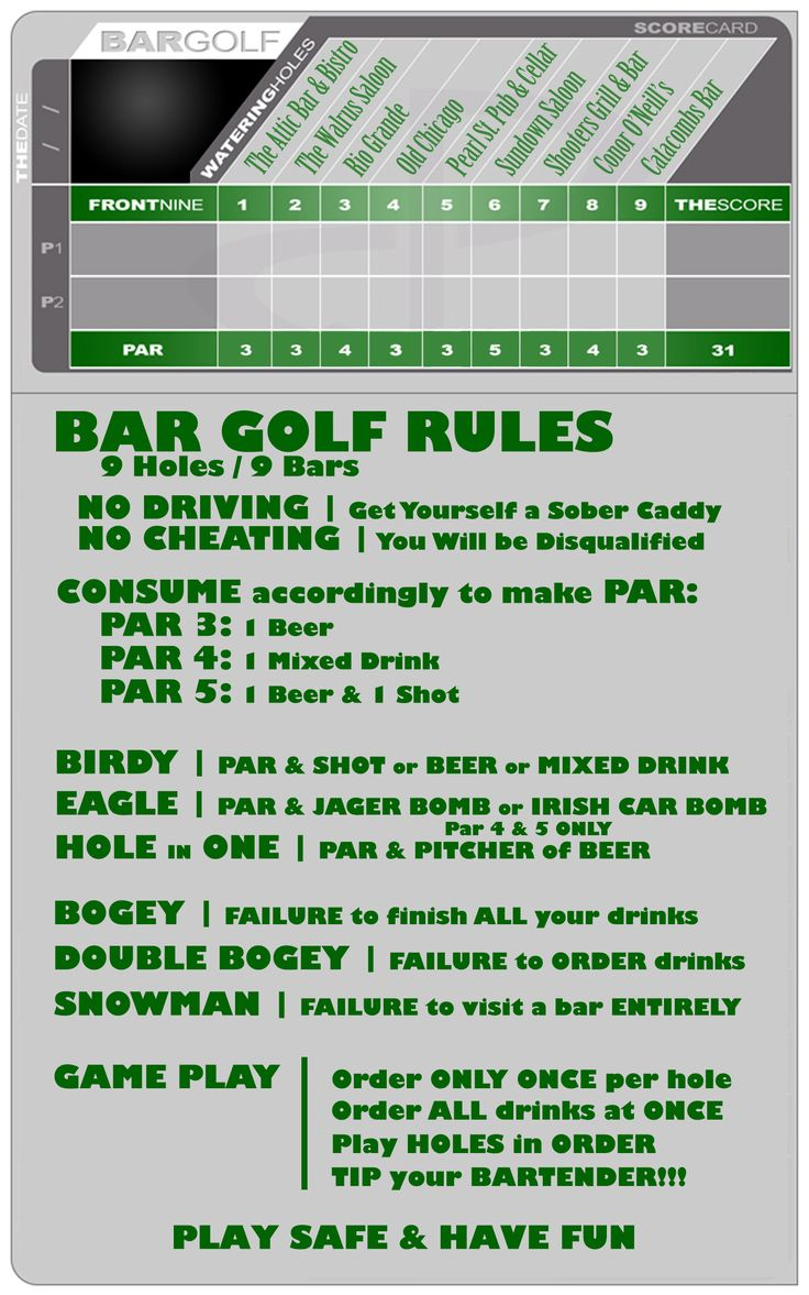 BOULDER bar golf score card... why did I not have this when I was living there!! SO hilarious!