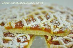 Blog di cucina di Aria: Crostata con frolla all'olio e cannella e confettura di zucca e vaniglia