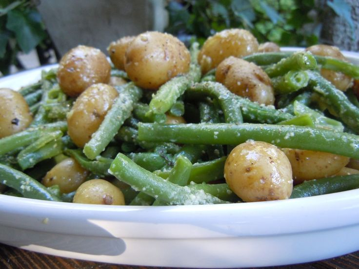 """best ever"" new potatoes & green beans"