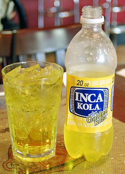 Inca Kola. Best soda in the world. It's a shame they're ...