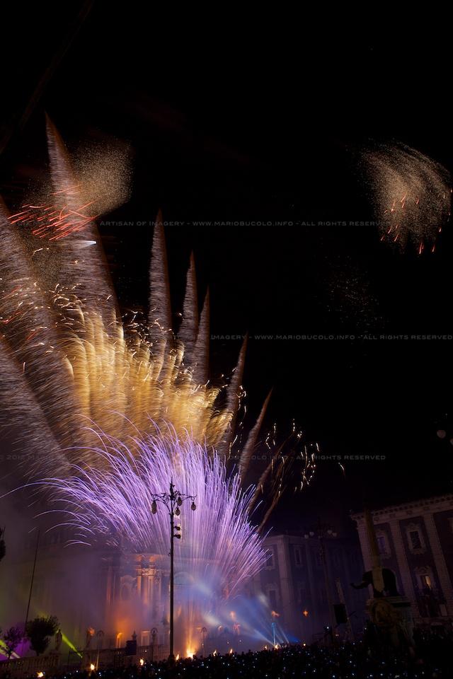 next week  Sant'Agata Celebration in Catania, fireworks, procession etc.