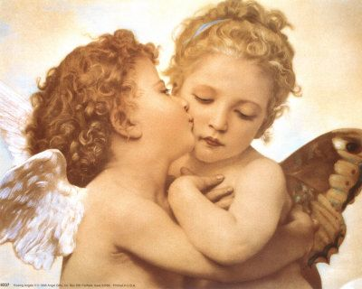 Cherub kiss  Google Image Result for http://www.posters.ws/images/411000/kissing_angels.jpg