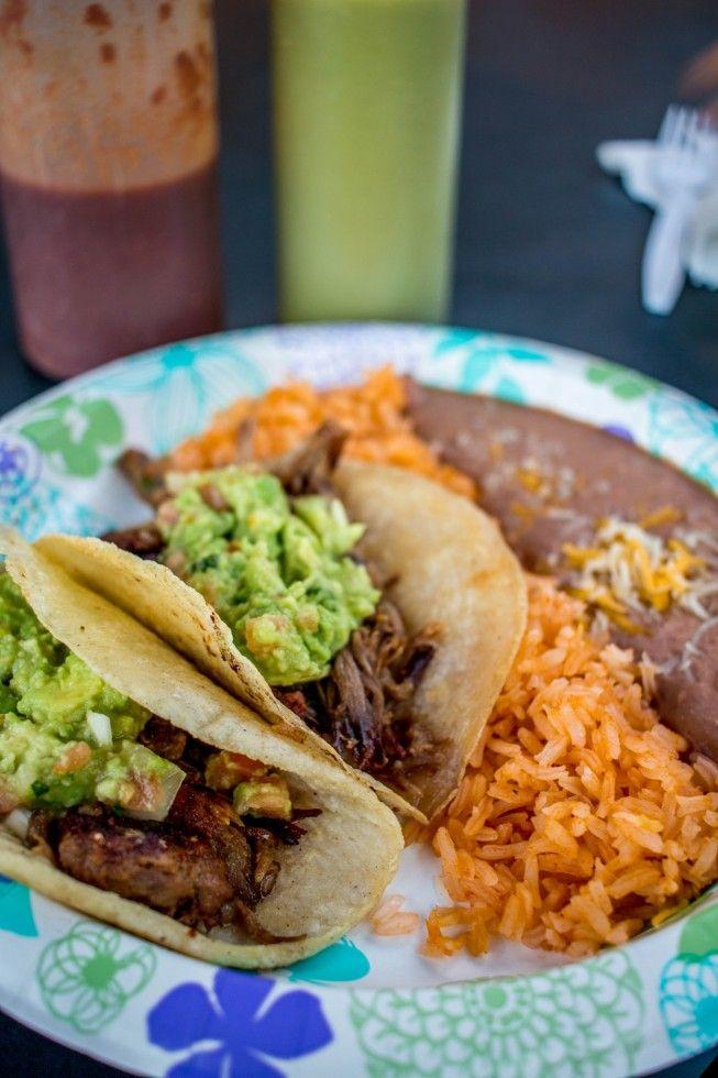 Carnitas Tacos at El Taco Feliz in Kapaa Kauai