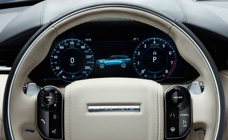 """12.3"""" digital display for new RR Velar The all-new Range Rover Velar will land in Australia in October (pricing and specs here) and with it will come this fully digital cockpit. The 12.3"""" high-def digital [...]"""