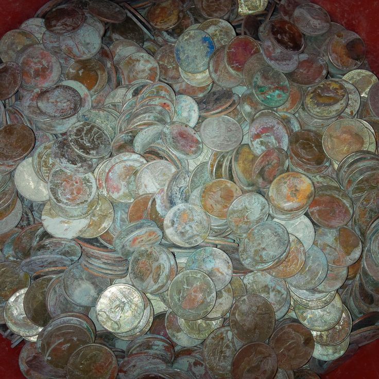 http://coin-cleaning-service.merschat.com We cleaned this entire 5 gallon bucket of corroded quarters in 1 day.  That's how fast we can transform trash into cash.  We process several thousand corroded coins per day.  Our facility is under a centrally monitored security system.  Only approved personnel enter the coin processing area.  Let us clean your dirty, rusty, old coins and send you a check for their bankable value in a little as 3 business days.