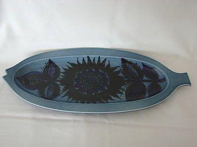 Arabia of Finland Vintage Mid Mod GOG Fish Plate Platter WOW NR