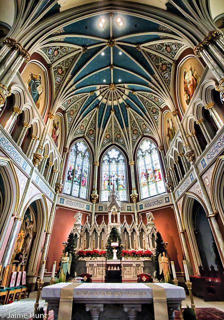 cathedral in savannah georgia | Savannah, Georgia | St. John the Baptist Cathedral | Flickr - Photo ...