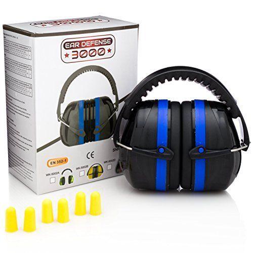 Ear Defense 3000 Plus Ear Muffs with Earplugs