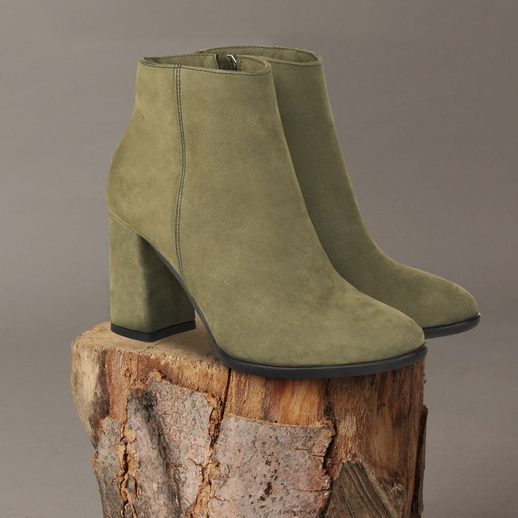 A może khaki? #winter #winterboots #shoes #leather #leathershoes