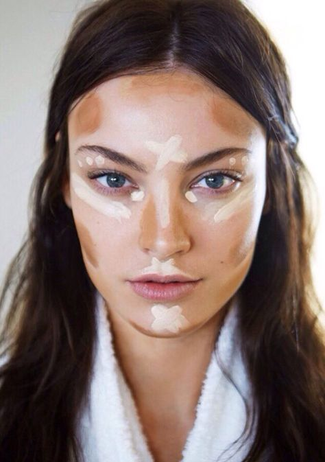 Beginner's 5 Step Guide To Contouring - Great Tips!Contouring with makeup adds more dimension to your face by adding shadows and highlights, playing up your cheekbones and even reshaping your nose. Professional makeup artists have been using contouring for years. It can be so effective that contouring is often the secret glam factor in the gorgeous red-carpet looks of many celebrities. Get the look at home with our simple step-by-step guide.What You'll Need: Bronzer Blush Highlighter ...