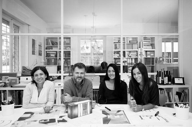 Alvisi Kirimoto + Partners. In the photo: Alessandra Spiezia, Massimo Alvisi, Junko Kirimoto, Arabella Rocca.