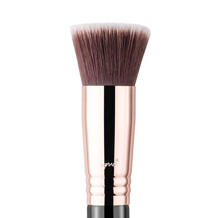 Flat Kabuki Copper F80 make up kwast van Sigma bestel je online bij Boozyshop.nl dé make up webshop van  Nederland.  Voor 20.00 uur besteld? De volgende (werk)dag in huis!