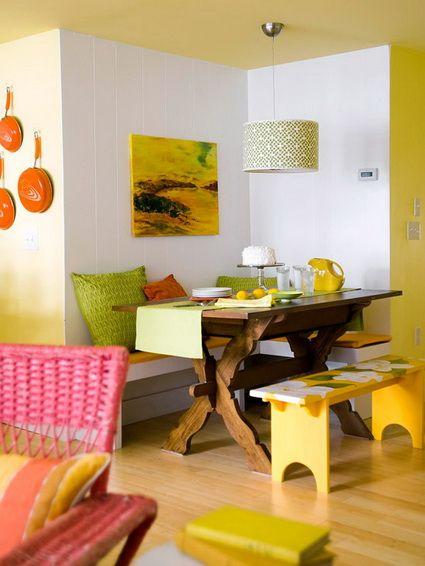 Las 25 mejores ideas sobre esquinas de desayuno de cocina for Mesas para esquinas