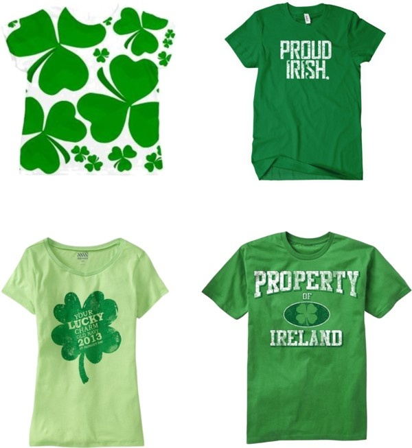 """St. Patricks Day Shrits"" by claudiawilczynski on Polyvore"