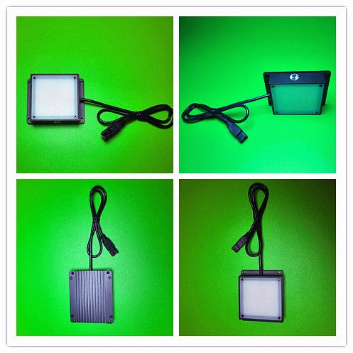Machine vision backlight 100 * 100mm surface light source industrial lighting detection LED square light source  Flat lighting