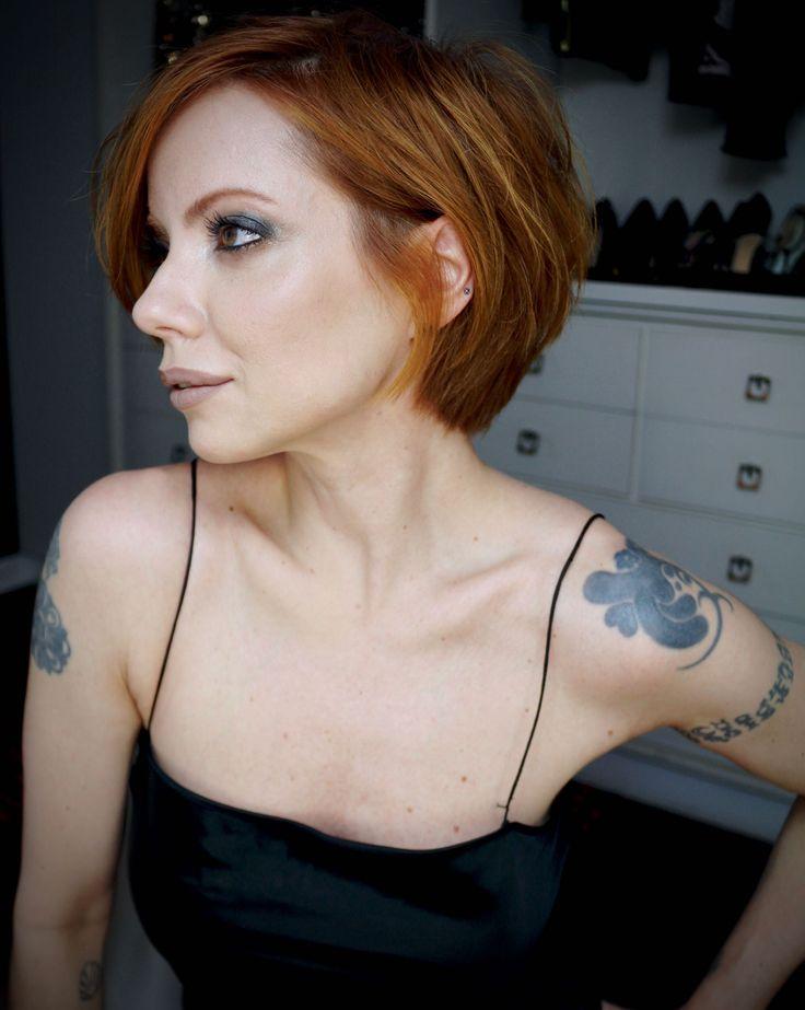 Julia Petit cabelo texturizado com  finalizador para usar sem secador