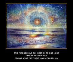 Affirming ourselves as Light Beings.