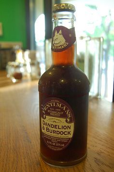 A recipe to recreate my favorite soda: Fentiman's Dandelion and Burdock. Delicious.