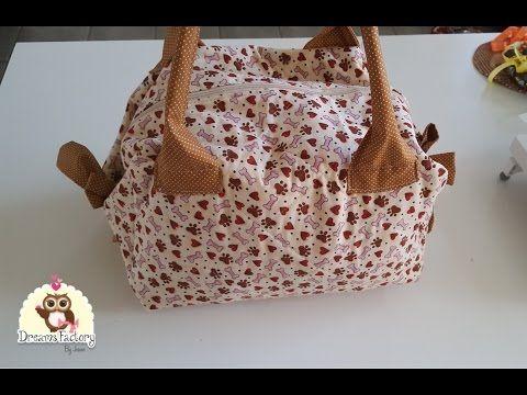 Como fazer uma bolsa maternidade - YouTube