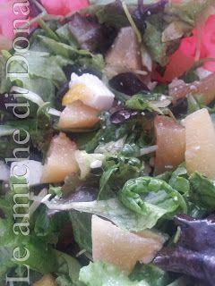 Ricetta Economica e veloce!   Insalata con susine gialle e quartirolo al sapore di limone    http://leamichedidona.blogspot.it/2012/10/insalata-con-susine-gialle-e-quartirolo.html