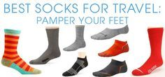 Best Socks For Travel - Discover the Importance of Wearing Quality Socks When Backpacking Europe http://thesavvybackpacker.com #backpacking #europe #travel