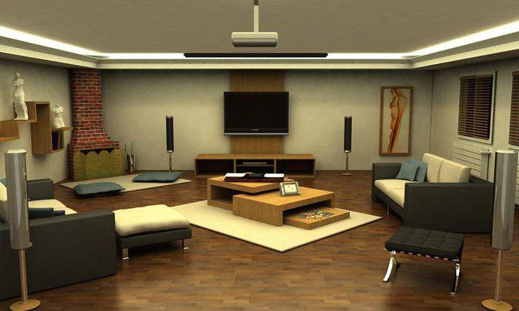Integra IBS'in akıllı ev sistemlerini tanıtacağı bir sunumda kullanılmak üzere modellenen iç mekan çalışmaları. Sunumda gösterilmesi hedeflenen animasyonlara yönelik kurgulanmış iç mekan düzenlemeleri içermektedir.
