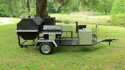 bbq trailer in Barbecues, Grills & Smokers
